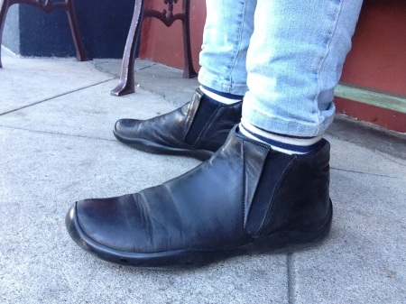 Prada boots 1