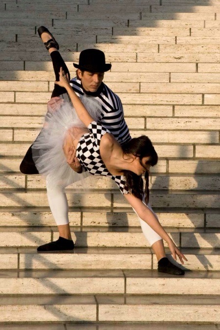 me dancing