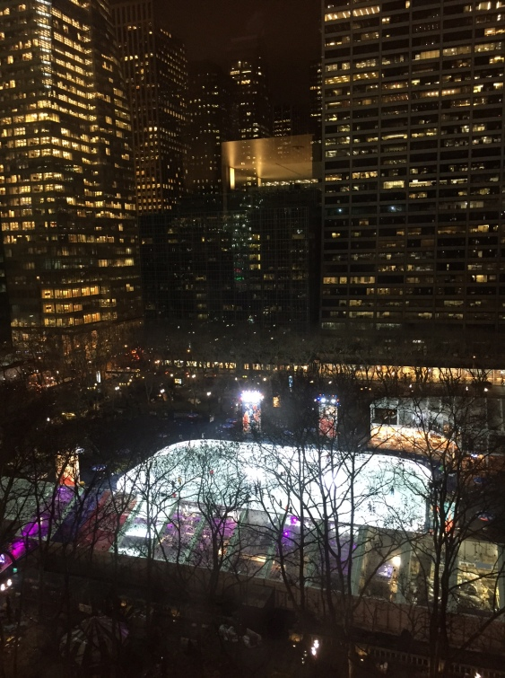 Looking at the Bryant Park