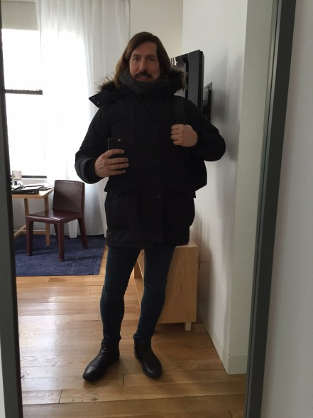 Jesus Wears Skinny Jeans and a very heavy coat