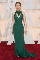 Scarlett Johansson wearing Versace